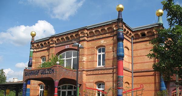 Hundertwasser - Bahnhof Uelzen