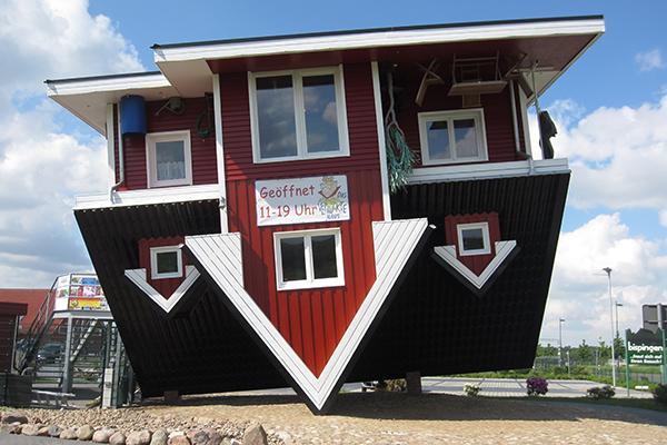 Das verrückte Haus in Bispingen