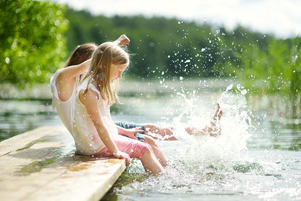 Beste Wasserqualität